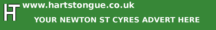 Newton St Cyres: Your Advert Here